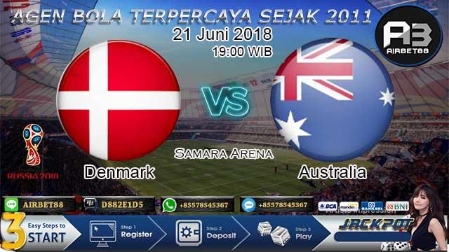 Prediksi Bola Denmark vs Australia