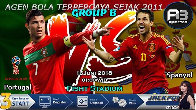Prediksi Piala Dunia Portugal Vs Spanyol