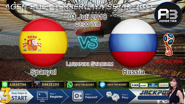prediksi bola spanyol vs rusia