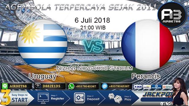 prediksi uruguay vs perancis